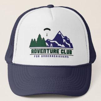 Adventure Club for Underachievers trucker hat