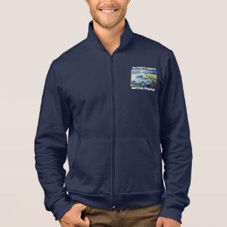 """Adventure Fleece Jacket. """"Weather's Liberty"""" Motto Jacket"""