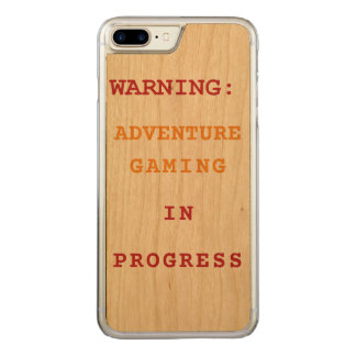 Adventure Gaming In Progress Carved iPhone 8 Plus/7 Plus Case