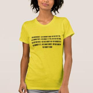 Adventure Girl in Binary Code T-Shirt