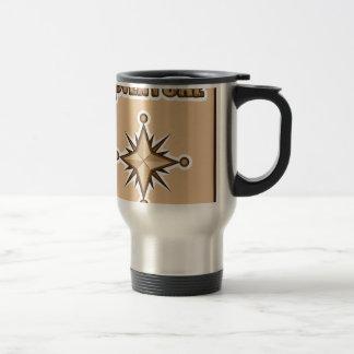 Adventure Illustration Stainless Steel Travel Mug
