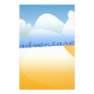 adventure in desert personalised stationery