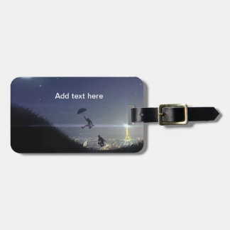 Adventure in Paris Luggage Tag