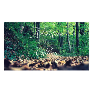 Adventure is calling pack of standard business cards