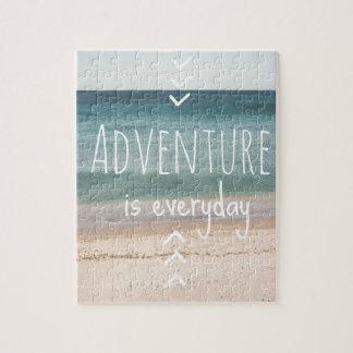 """""""Adventure is everyday"""" Puzzle"""