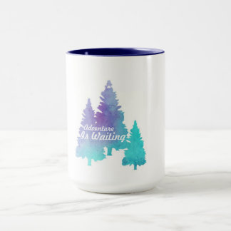Adventure is waiting, forrest mug