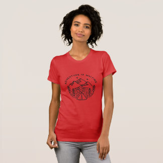 Adventure is Waiting Women's Crew Neck T-Shirt