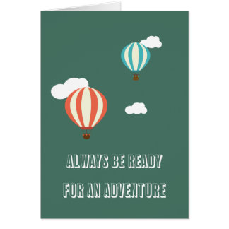 Adventure Kids Greeting Card