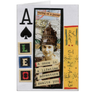 Adventure Leo Playing Card