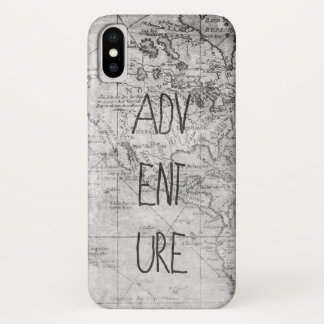 Adventure map iPhone x case