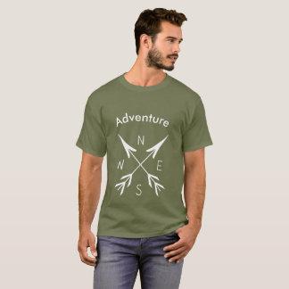 """Adventure"" Men's Basic Dark T-Shirt"