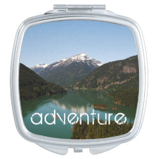 Adventure Mountain Compact Mirrors For Makeup