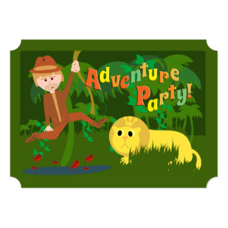 Adventure Party Card
