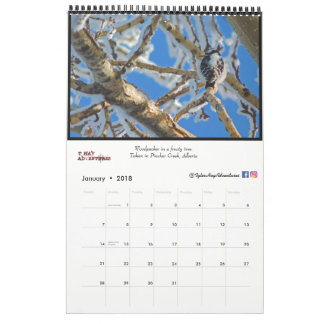 Adventure Photos Calender|| Iceland and Canada Wall Calendars