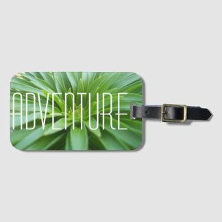 Adventure Plant Luggage Tag