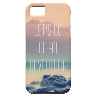 Adventure print case for the iPhone 5