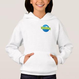 Adventure Ridge girls small logo hoodie