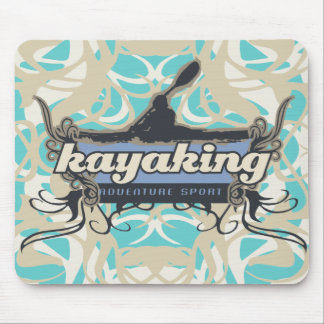 Adventure Sport Kayaking Tshirts and Gifts Mouse Pad