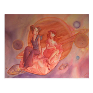 Adventure Through the Nebula Post Card