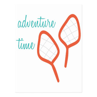 Adventure Time Postcard