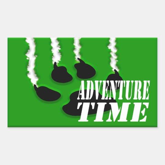 Adventure Time Rectangular Sticker