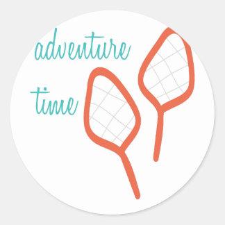 Adventure Time Round Sticker