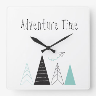 'Adventure time' Wall Clock
