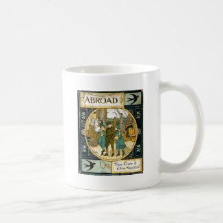 Adventures Abroad by Ship Basic White Mug