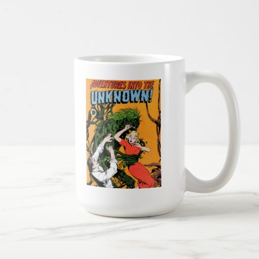 Adventures into the Unknown - Angry Plant Mug