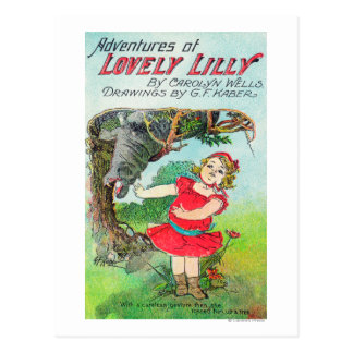 Adventures of Lovely Lilly by Wells and Kaber Postcard