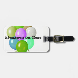 Adventure's Out There Luggage Tag