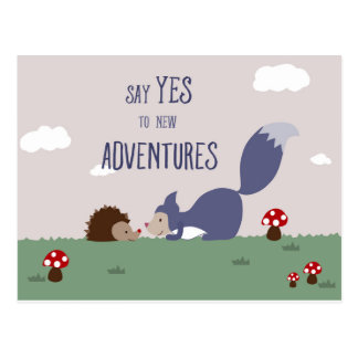 Adventures Postcard