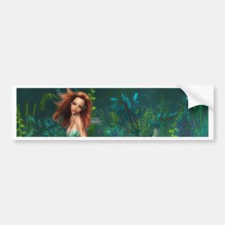Adventurine Mermaid Bumper Sticker