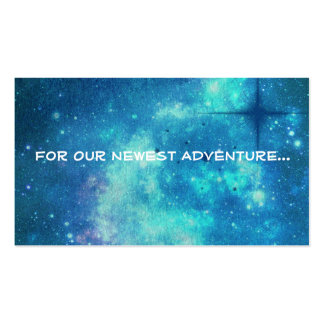 Adventurous Announcement Card Pack Of Standard Business Cards