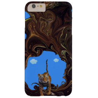 Adventurous Tiger. Barely There iPhone 6 Plus Case