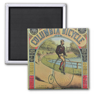 Advert for the Columbia Bicycle Square Magnet