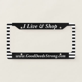 Advertise Your Website Here Licence Plate Frame