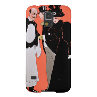 Advertisement for A Night Out at the Vaudeville Galaxy S5 Cases