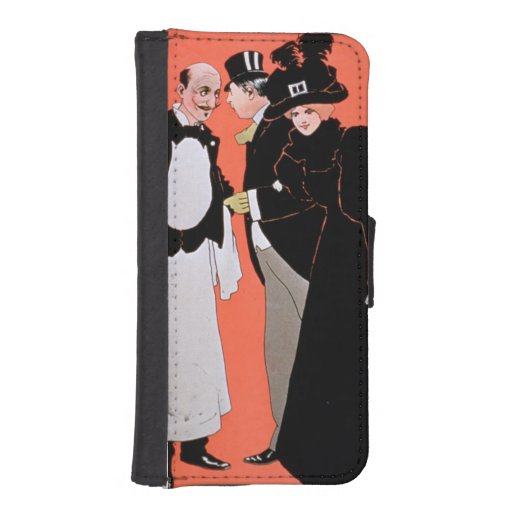Advertisement for 'A Night Out', at the Vaudeville iPhone 5 Wallet Case