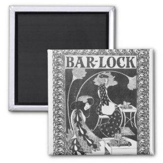 Advertisement for Bar-Lock Typewriters, c.1895 Magnet