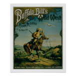 Advertisement for 'Buffalo Bill's Wild West and Co Poster