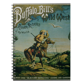 Advertisement for 'Buffalo Bill's Wild West and Co Spiral Notebooks