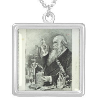 Advertisement for 'Cadbury's Cocoa' Silver Plated Necklace