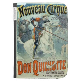 Advertisement for 'Don Quixote, New Circus', Horse Kindle Folio Cases