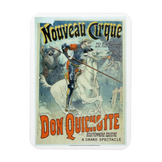Advertisement for 'Don Quixote, New Circus', Horse Magnet
