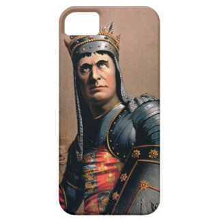 Advertisement for 'John McCullough as Richard III' iPhone 5 Cases