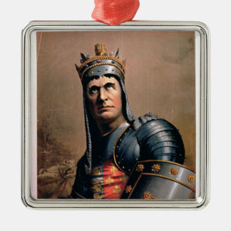 Advertisement for 'John McCullough as Richard III' Christmas Ornament