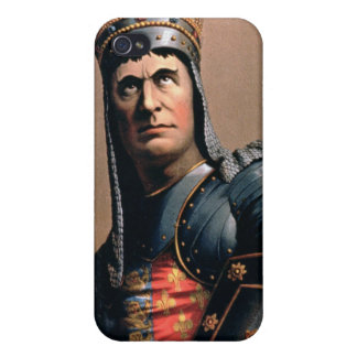 Advertisement for 'John McCullough as Richard III' Covers For iPhone 4