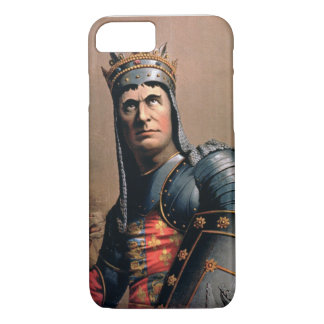 Advertisement for 'John McCullough as Richard III' iPhone 8/7 Case