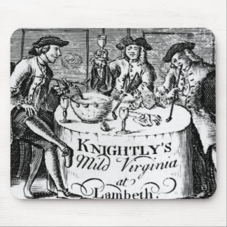 Advertisement for 'Knightly's Mild Virginia Mouse Mat